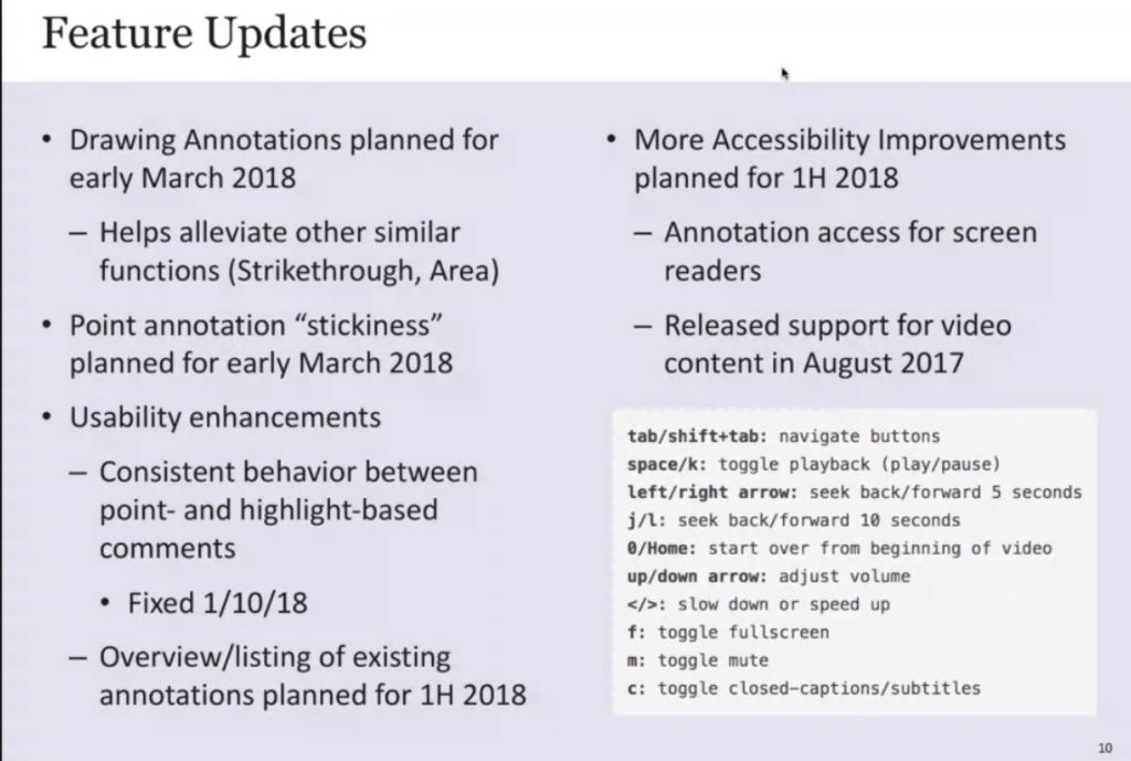 Feature updates for Box View within Blackboard assignment grading for early March updates