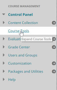 Course Tools Link