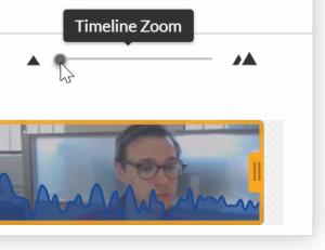 Timeline Zoom Minimized