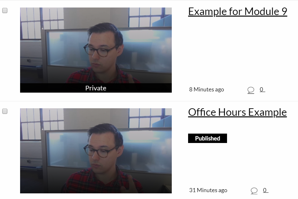 Office Hours Video with Clip Created from Office Hours